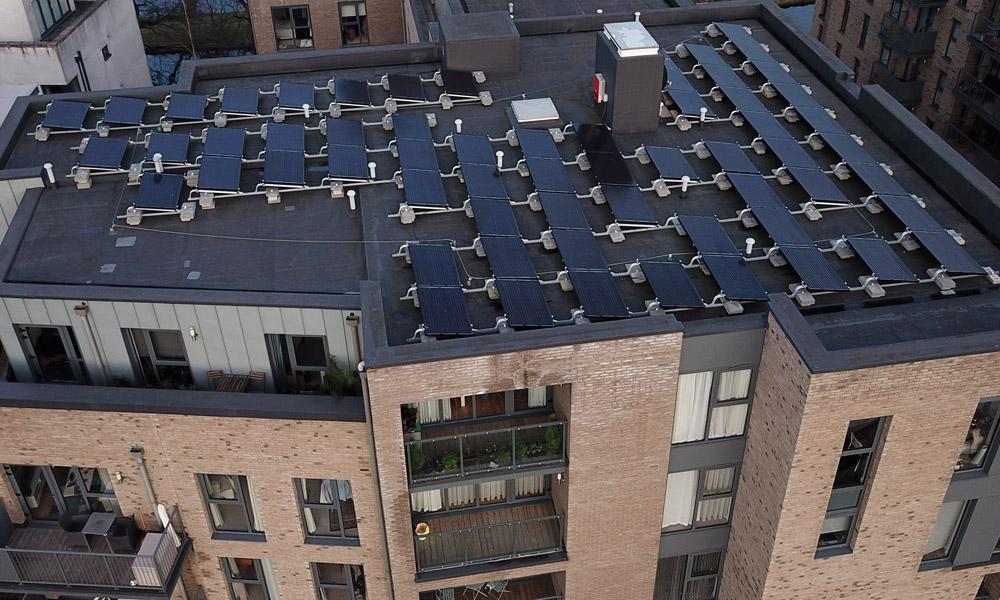 Zonnepanelen op appartement – Vraag nu meer info
