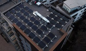 zonnepanelen op appartement